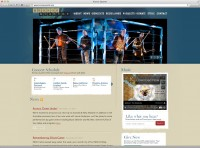 Kronos Quartet website