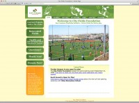 City Fields website from 2009