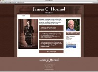 James C. Hormel website